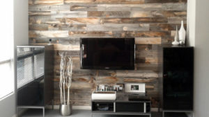 Элегантный деревянный декор для стен