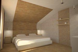 Использование ламината на стене и потолке
