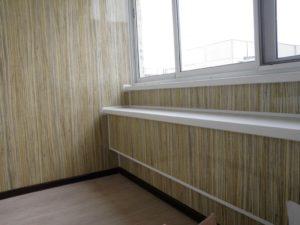 Как обшить балкон ламинатом