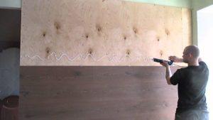 Как клеить ламинат на стену