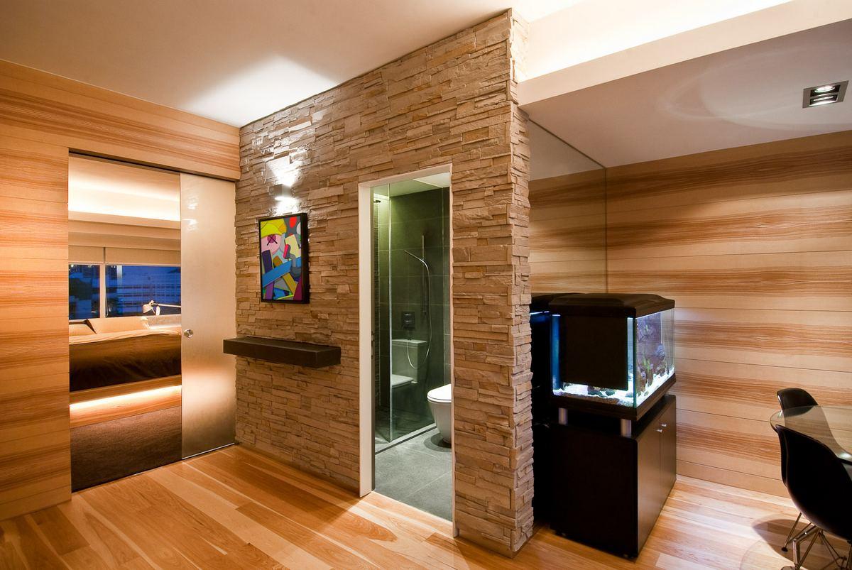 Interior wall paneling design