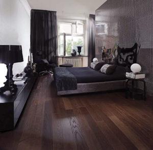 Ламинат в спальне