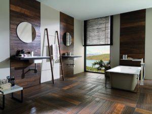 Оформление ванной ламинатом