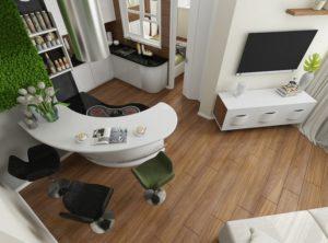 Ламинат в интерьере квартиры – гармоничное переплетение стиля и уюта