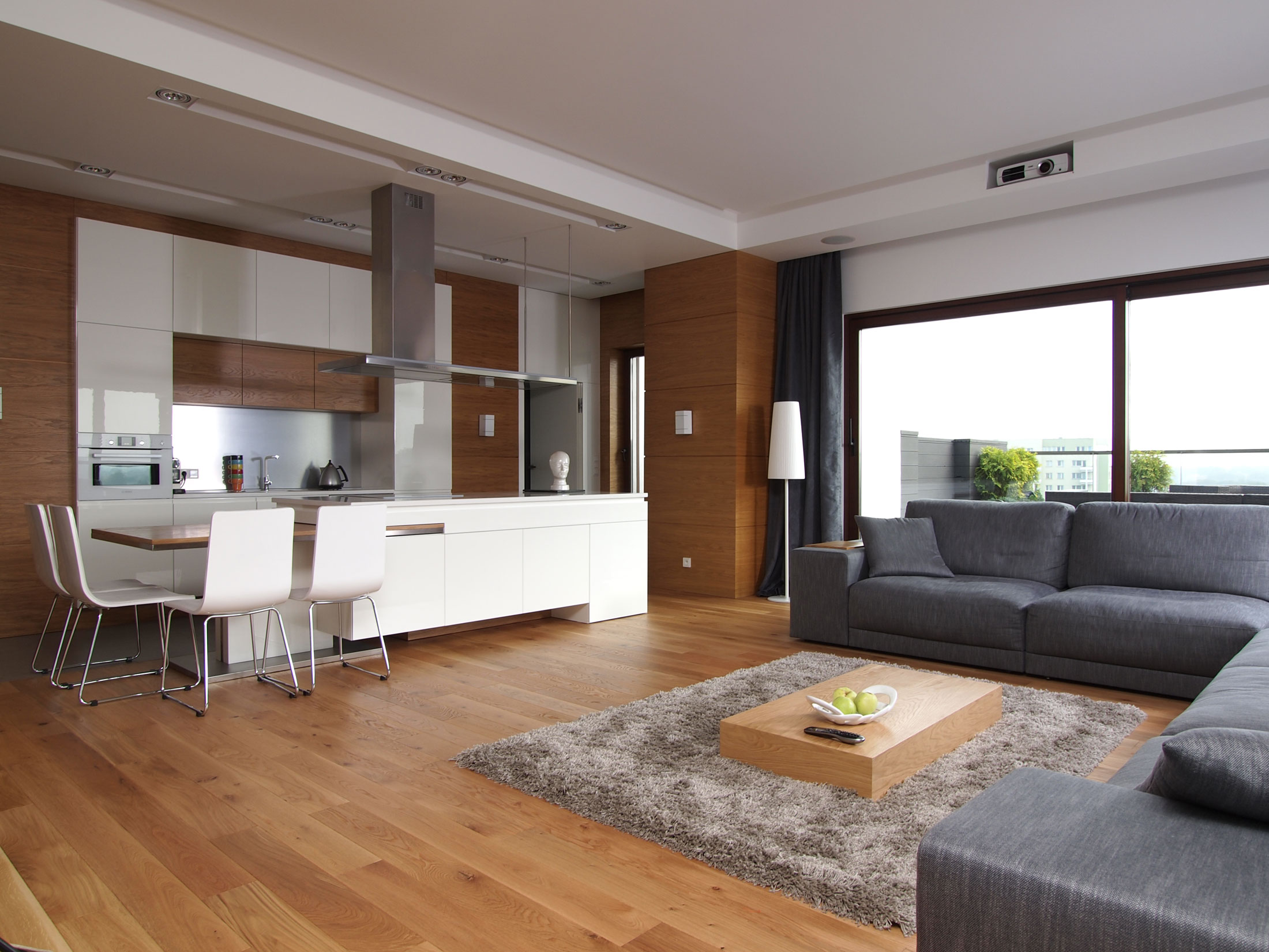 Ламинат в интерьере квартиры