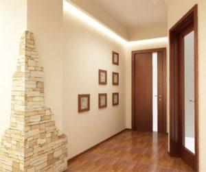 Ламинат в узком коридоре