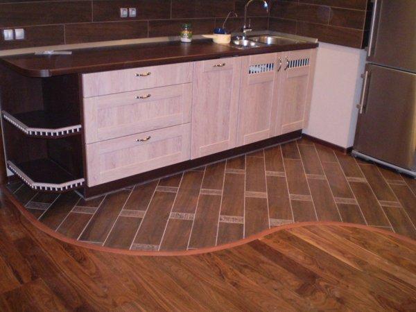 Полы на кухне в хрущевке ремонт своими руками