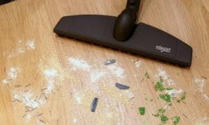 Очистка напольной поверхности