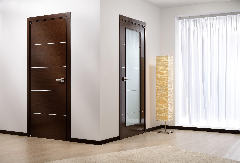 Подбор цвета дверей и ламината