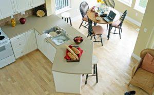 Рекомендации при выборе ламината для кухни