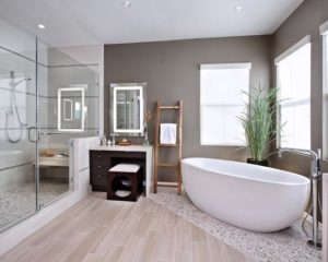 Выбор напольного покрытия для ванной