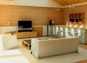 Декор помещения с помощью ламината