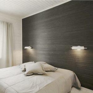 Декор стен современным ламинатом