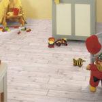 Экологический чистый ламинат в детской комнате