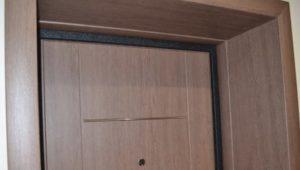 Изготовление дверей из ламината