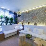 Как сделать подсветку стены с применением ламината