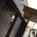 Короб в интерьере дома из ламината