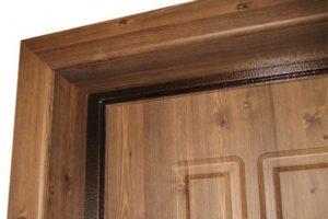 Красивые двери, созданные из ламината