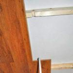 Красивый ламинат на потолке