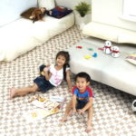Напольное покрытие на основе ламината для детской