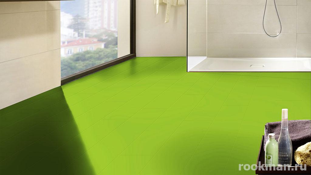 Ламинат зеленого цвета купить