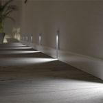 Оригинальная подсветка ламината на полу