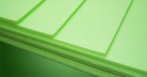 Практичный зеленый ламинат