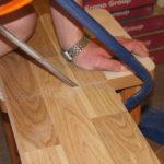 Правила как разрезать ламинат