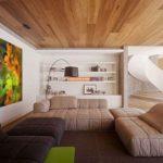 Применение ламината для обустройства потолка