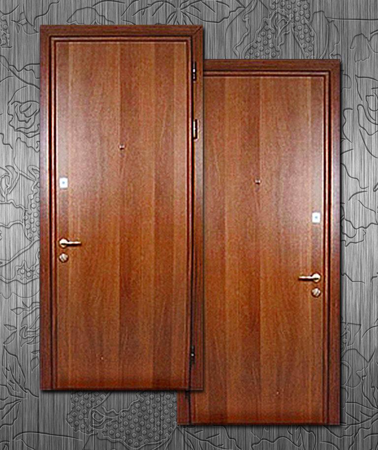 металлические двери из ламината цены
