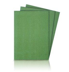 Пример зеленого ламината для дома