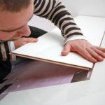 Процесс изготовления полки на основе ламината