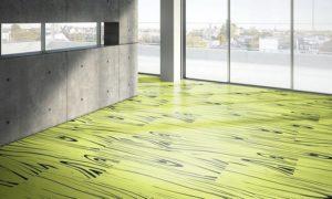 Светлый оттенок зеленого ламината