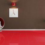 Выбираем красный ламинат для дома