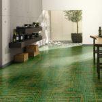 Зеленый ламинат