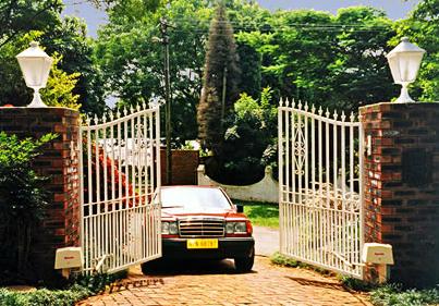 Какие ворота выбрать для дачи