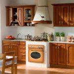 Классификация корпусной кухонной мебели