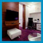Ламинат фиолетовый