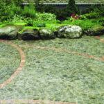 Мощеные камнем дорожки как элемент ландшафтного дизайна