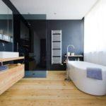 Обустройство просторной ванной