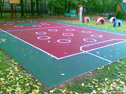 Покрытие для игровых площадок