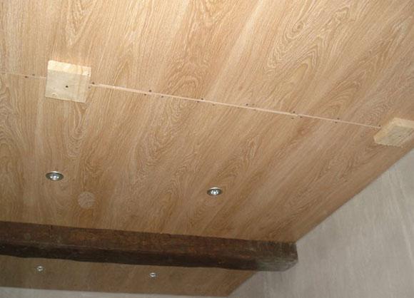 Потолок из ламината своими руками фото 29