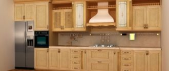Приоритетность выбора кухонь, изготавливаемых по индивидуальному проекту