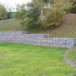 Проектирование и расчет подпорных стен, строительство и применяемые материалы