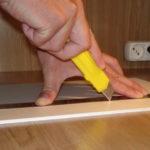 Как резать пластиковый ламинат