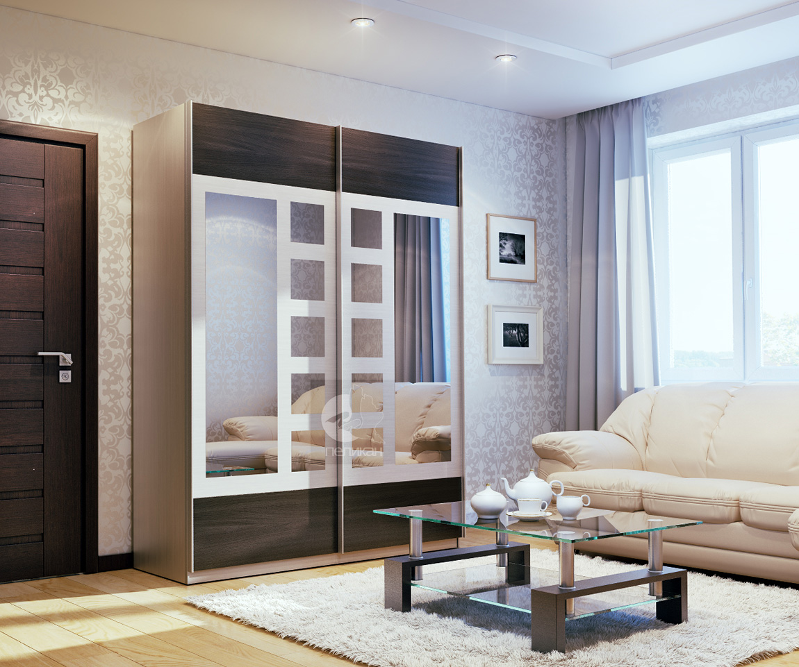 Стандартный шкаф купе, или мебель на заказ