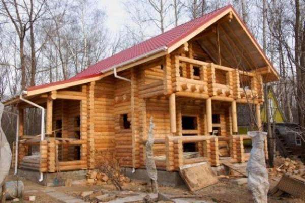 Строим дом из сухостоя, древние технологии возвращаются
