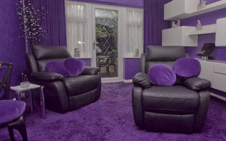 Правила применения фиолетового ламината