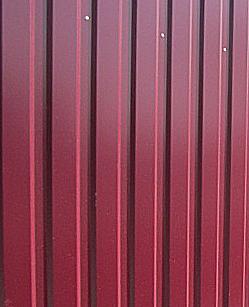 Заборы для дачи из профнастила