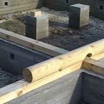 Бетонный фундамент для дома
